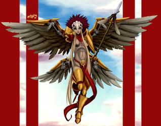 Angel de Icarah by RhadaNinja