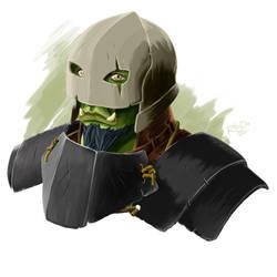 Knight of the Tusks by RhadaNinja