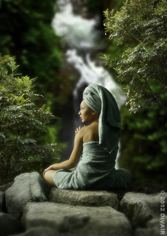 The bather by dilarosa