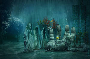 Council of atlantean elders by dilarosa