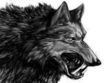 Dire Wolf Portrait