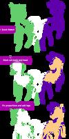 How I draw Ponies V1 by Kama-ItaeteXIII