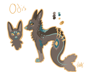 **Odis Reference Sheet by Kama-ItaeteXIII