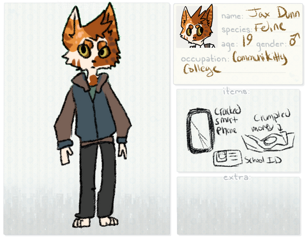 [KKT] Jax Dunn Reference Sheet by Kama-ItaeteXIII