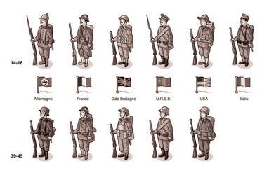 161-SVJ-39-45-Soldats