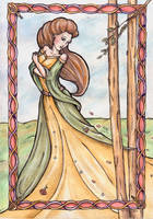 Airmid the Healer by Verbeley