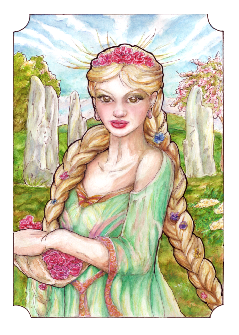Guinevere, the May Queen by Verbeley