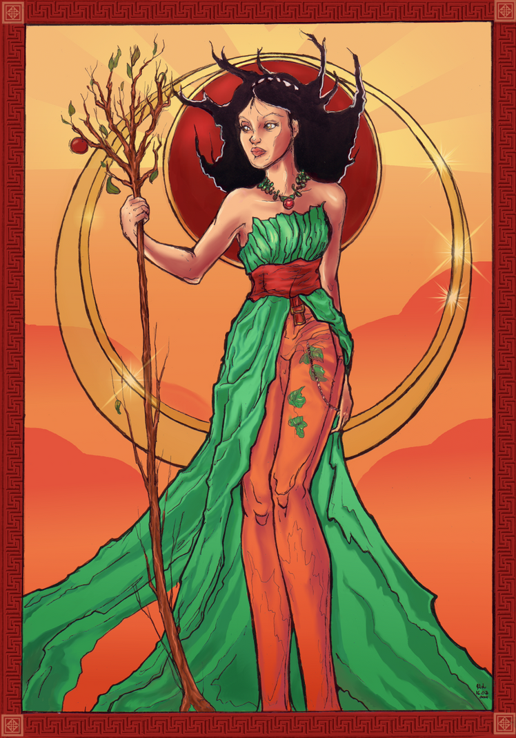 Xarpo lady of Autumn by Verbeley