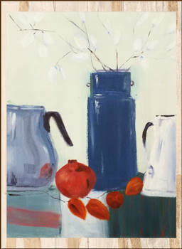 Still-life with the Wall in the Background