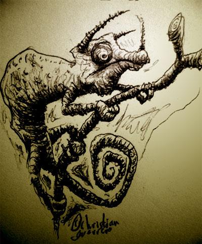 camaleon by misterpila