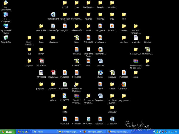 monstruo en mi desktop by misterpila