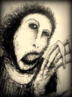 fan art: distorted ecce homo by misterpila