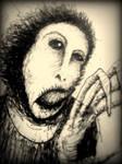 fan art: distorted ecce homo