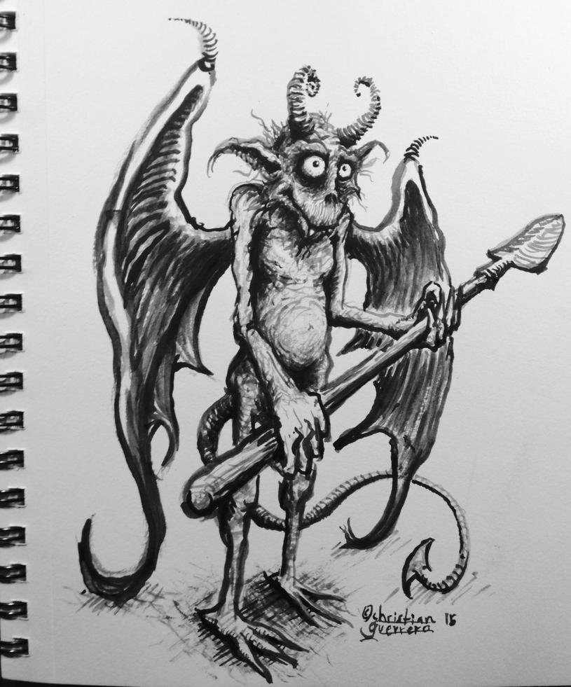 Gargoyle by misterpila