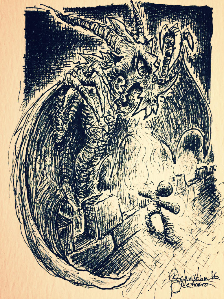 dragon. by misterpila