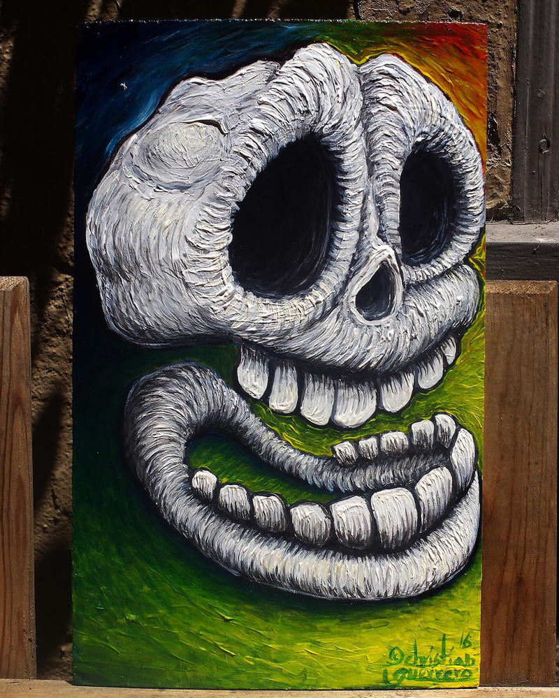 Skull by misterpila