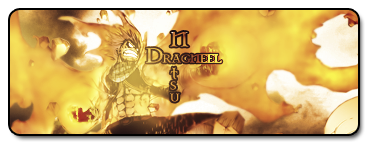 Natsu Dragneel Signature V 1.5