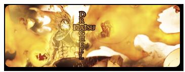 Natsu Dragneel Signature v1.75