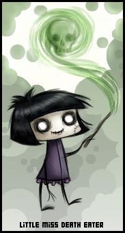 little miss death eater by Izabella
