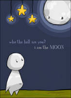 i am the moon by Izabella