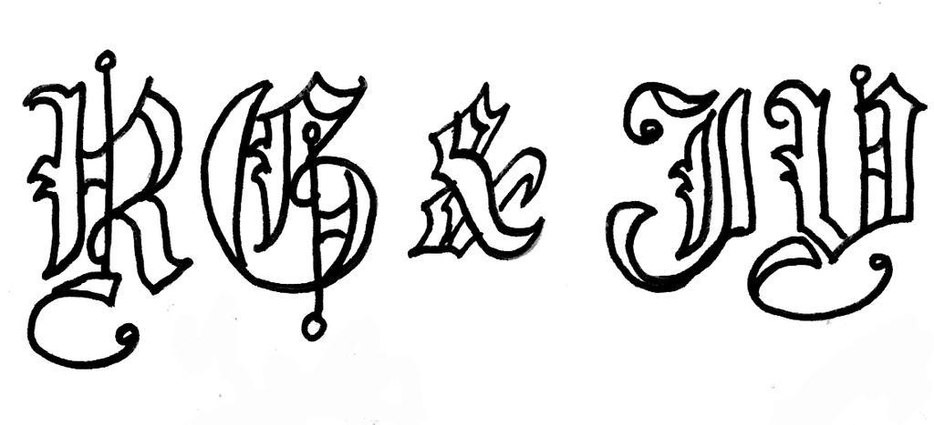 Monogram #2 by sKyAnGeLuS