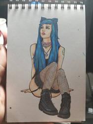 Copic Artbook Sketch #1