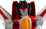 Starscream look at you