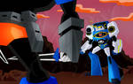 SG Wheeljack VS Soundwave