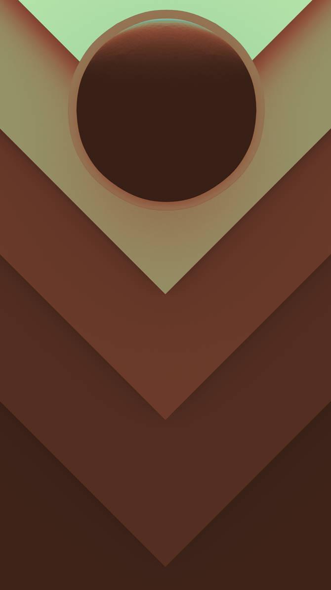 Phone Wallpaper Minimalistic HD (Red/Cyan) by Bluhurr on ...