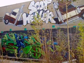 Grafitti Wall by JoFloKC