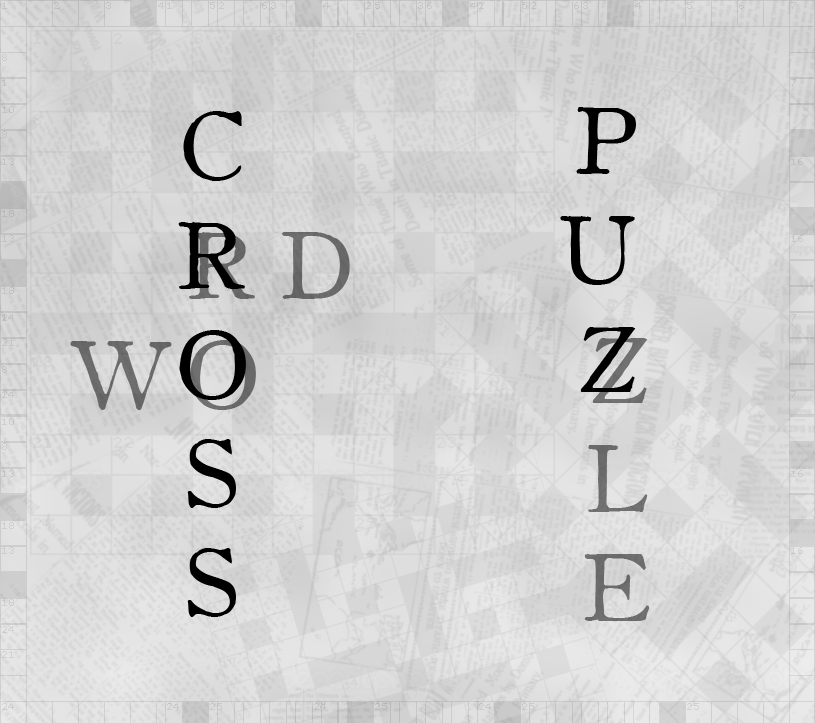 crOsswOrd PUZzle II by Mathemagic