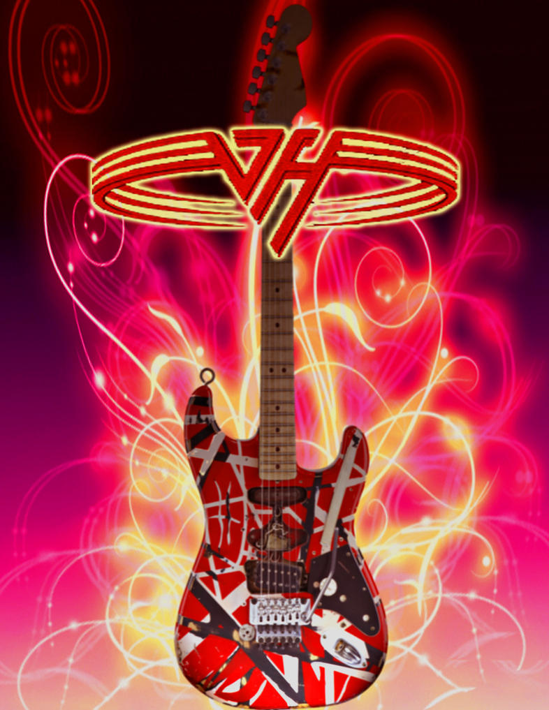 Van Halen Guitar Wallpaper