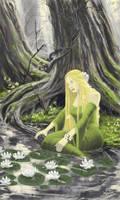 Tolkien: Goldberry by woutart