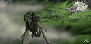 Nazgul over Pelennor fields