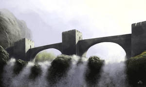 Fortified Bridge by woutart