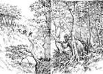 Sketch: Dunadan on the prowl
