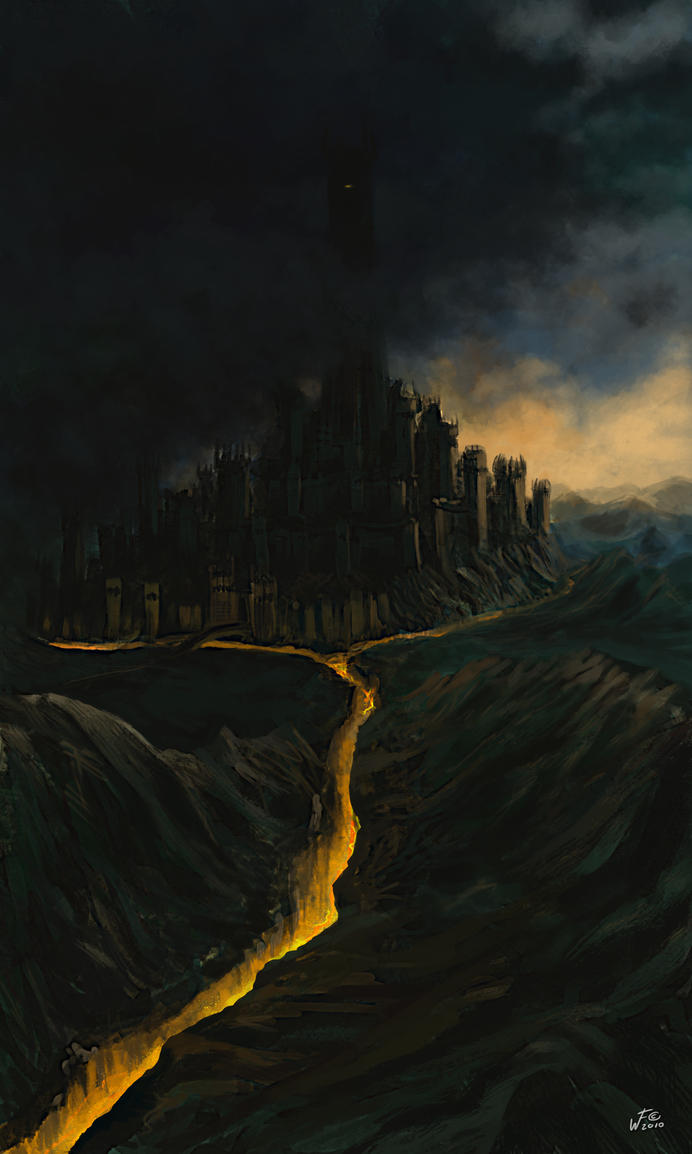 Barad-dur by woutart
