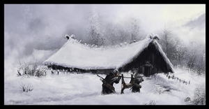 The Long Winter (Speedpainting 11) by woutart