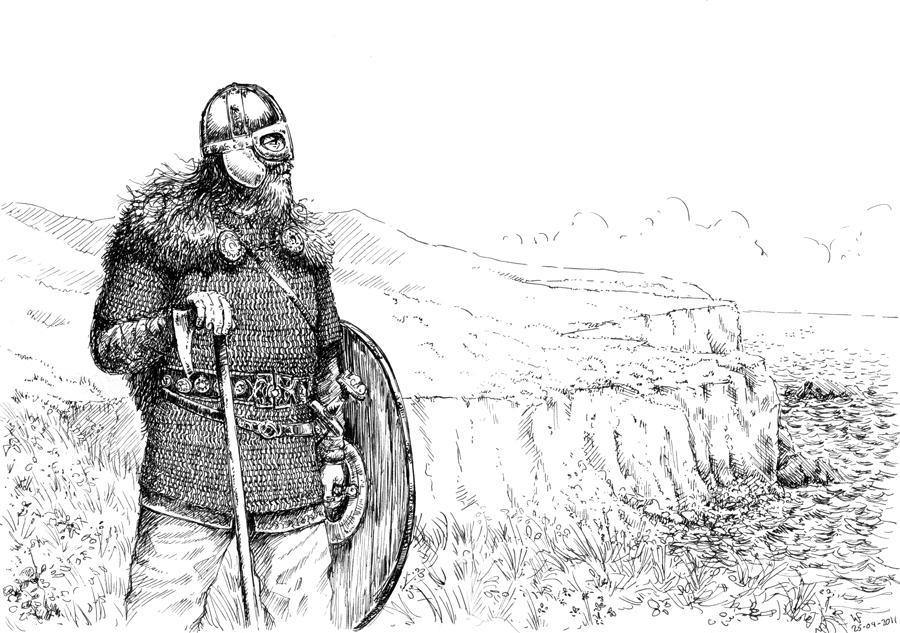 Sword Dane by woutart