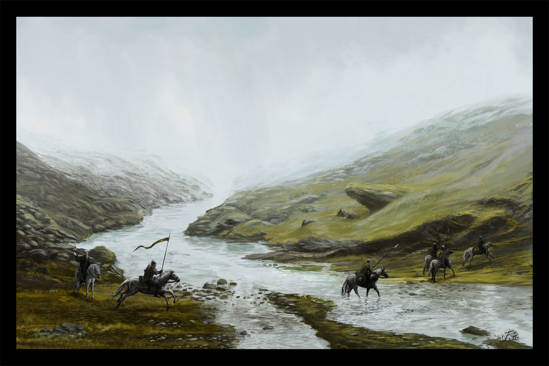 Crossing the Fords by woutart