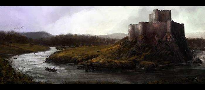 Castle by woutart