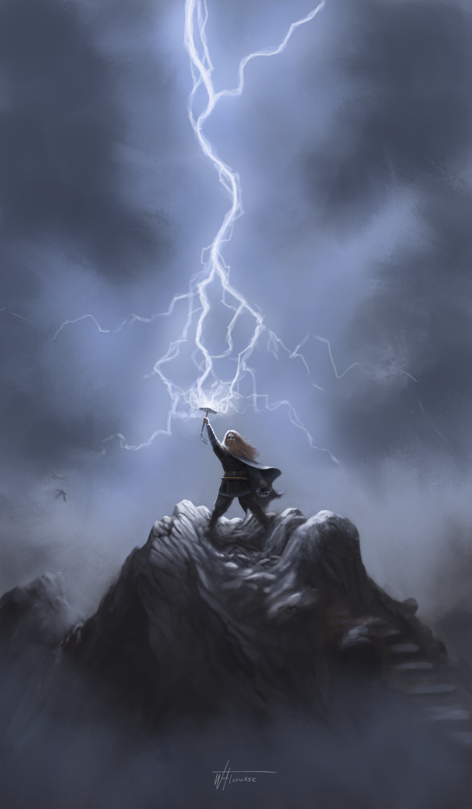 Thor by woutart