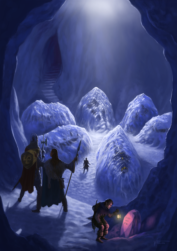 Tomb of the Ice Kings by woutart