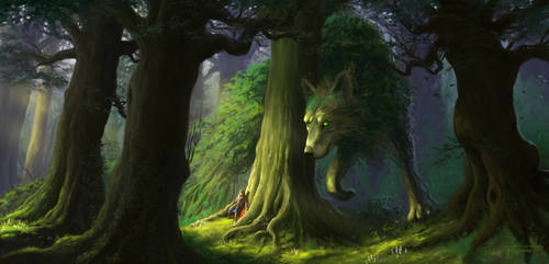 Forest spirit by woutart