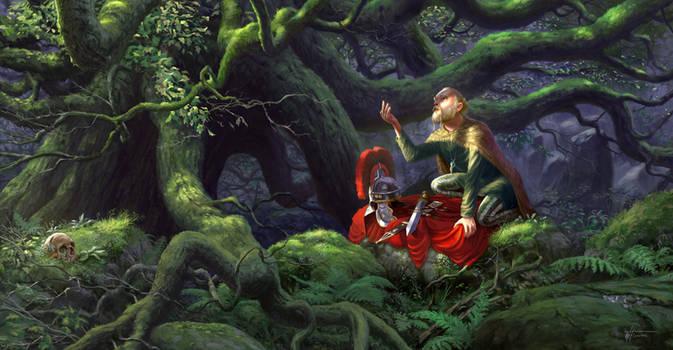 Under Wuodan's oak