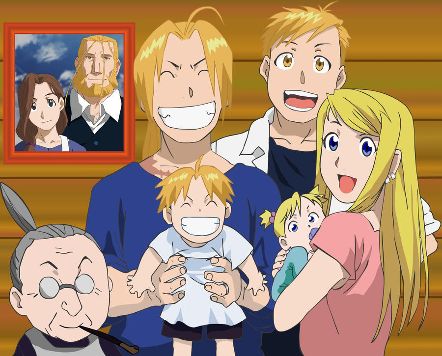 Full Metal Alchemist Family by JaggedHammer