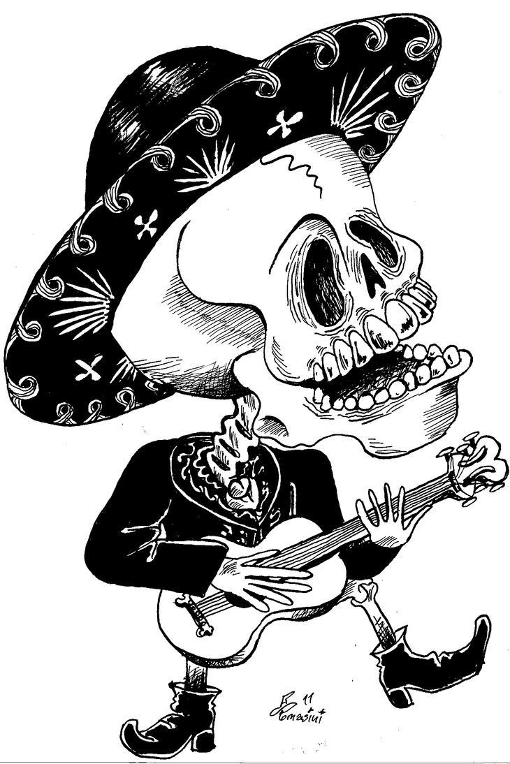 Mariachi drawing