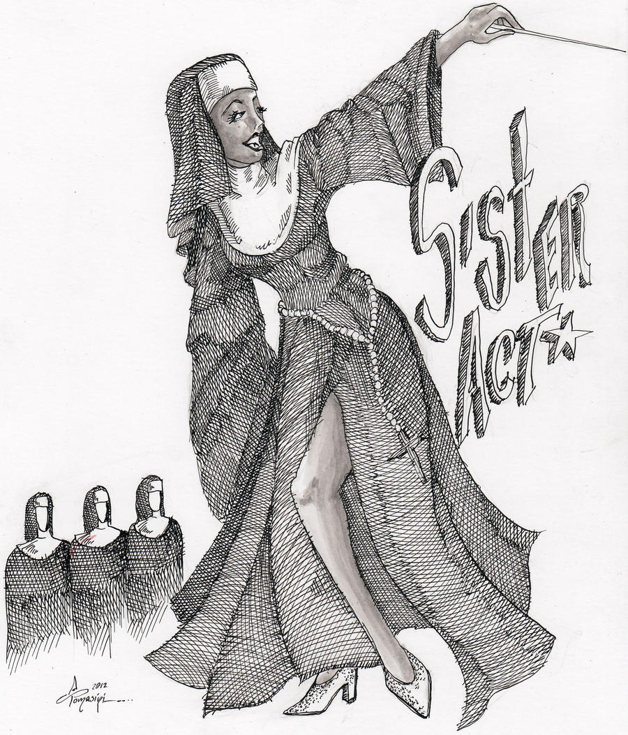 Sister Act Mary Clarence by DiegoTomasiniDIBRUJO