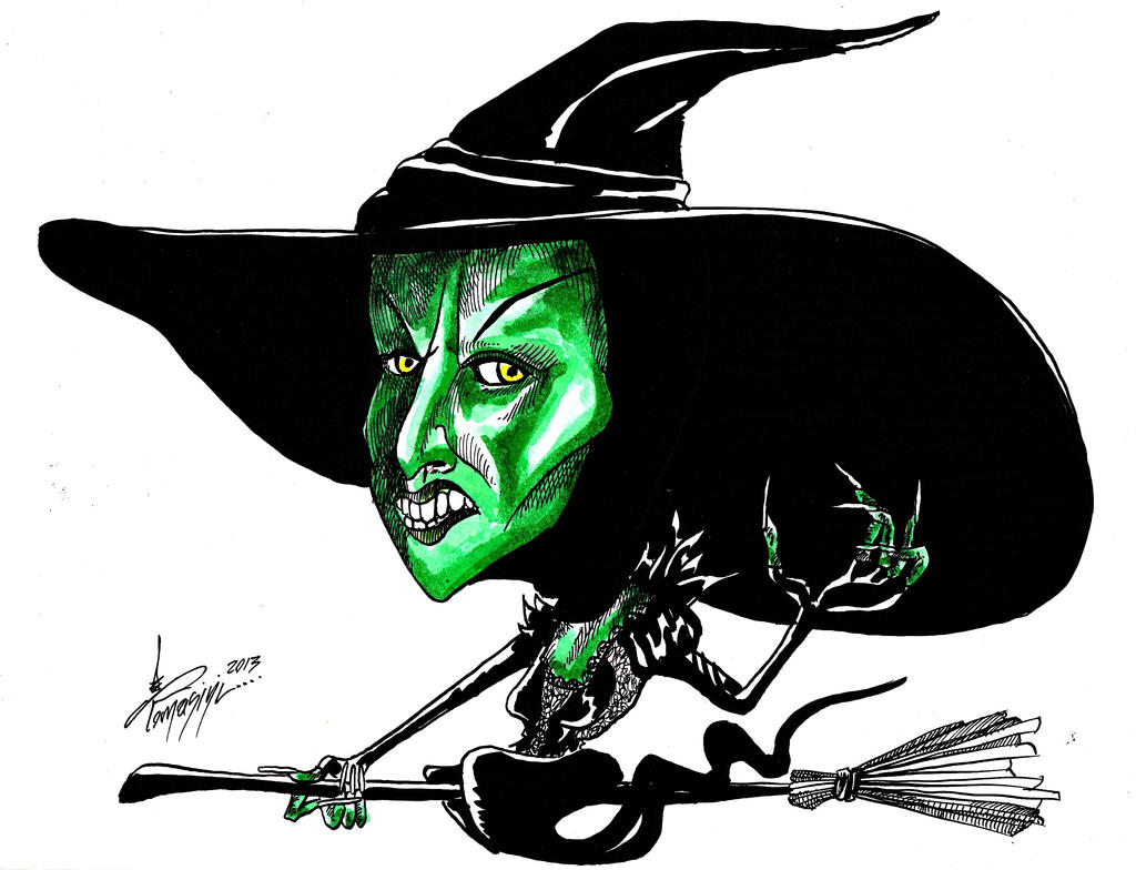 Wicked Witch Drawings Wicked Witch of The West by
