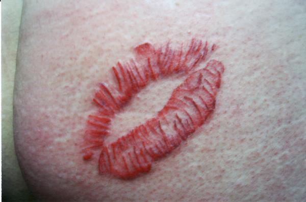 lips tattoo by body mods on deviantart